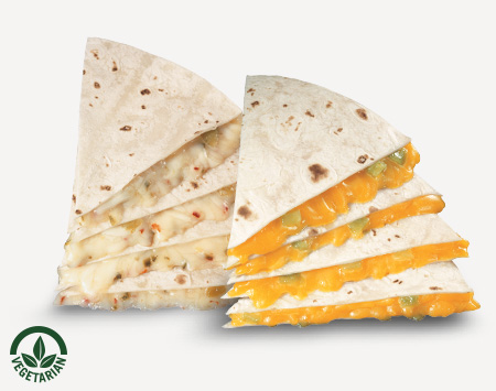 Spicy Jack or Cheddar Quesadilla
