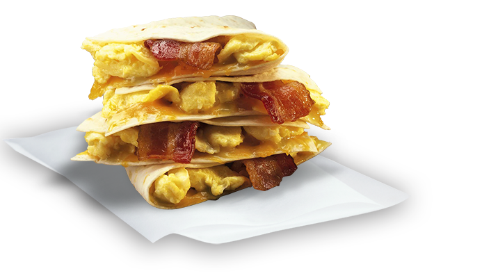 Bacon & Egg Quesadilla Meal