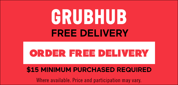 Order free delivery with Postmates. $10 minimum order.